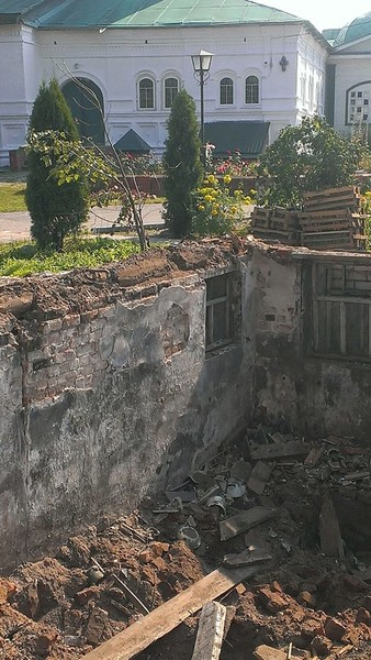 Здания, занесенные грунтом. Sibved