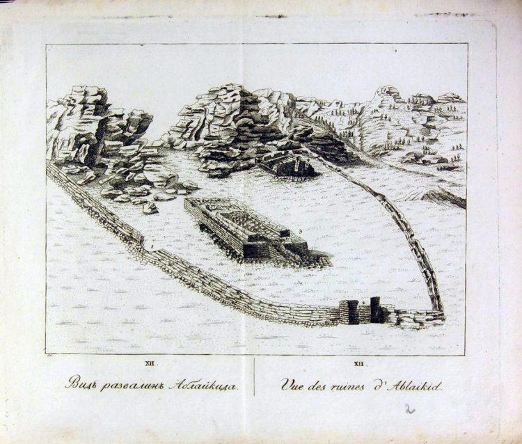 крепость Аблайкид