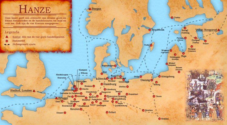 Ганза карта