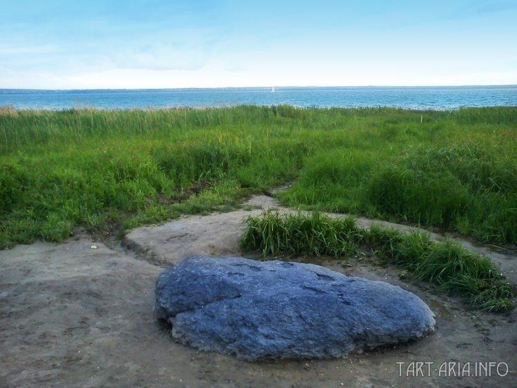Синь-камень на Плещеевом озере. Переславль-Залесский, Ярославская область