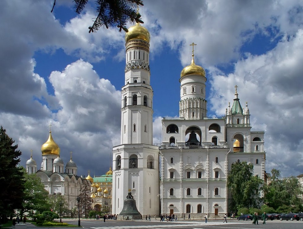 колокольня Кремль