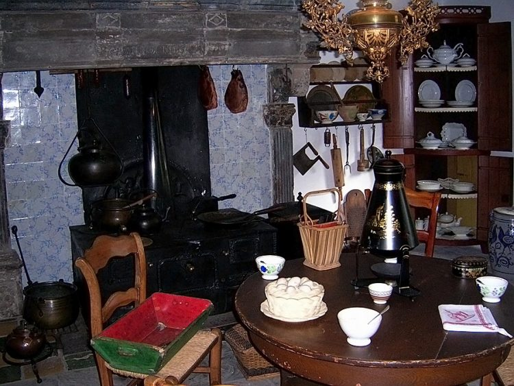 кухня очаг