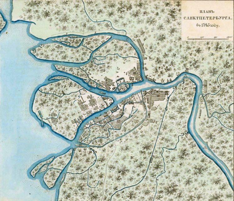 Петербург 1725
