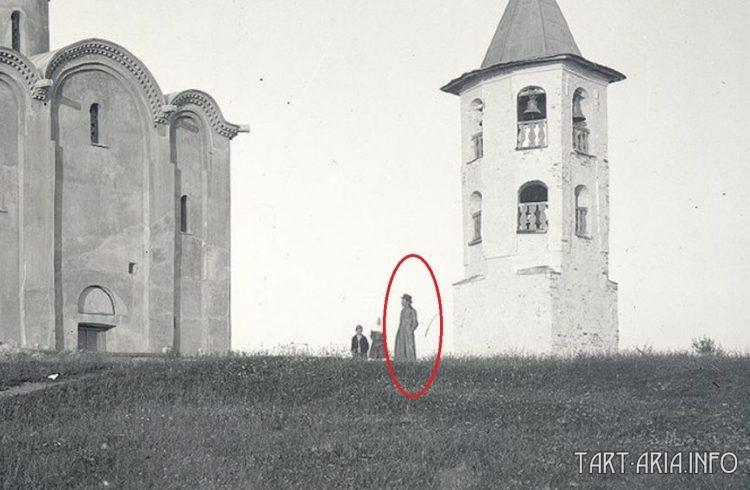 Православный священник в Новгороде. Конец XIX в.