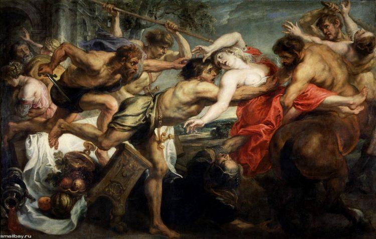 Рубенс. Похищение Гипподамии