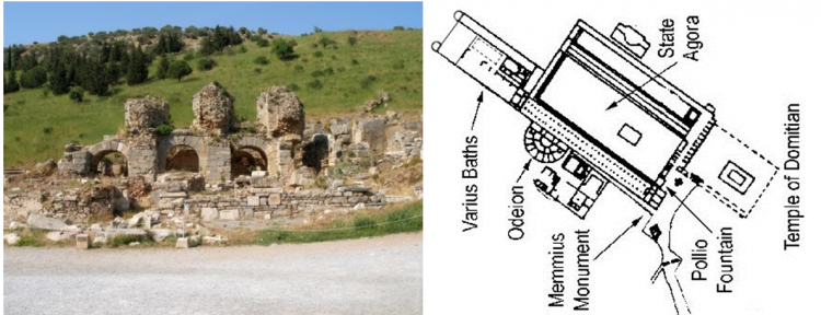 термы Эфеса
