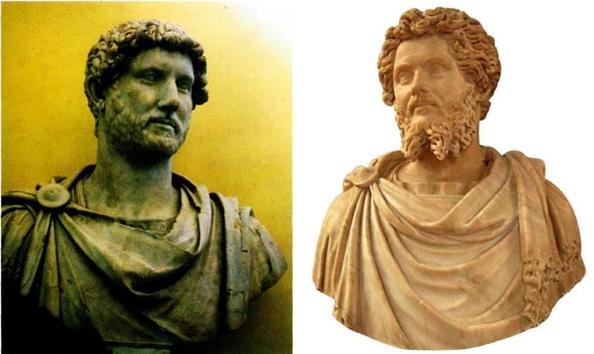 Адриан и Септимий Север