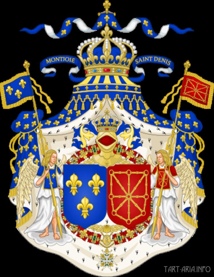 Герб Французской Луизианы.