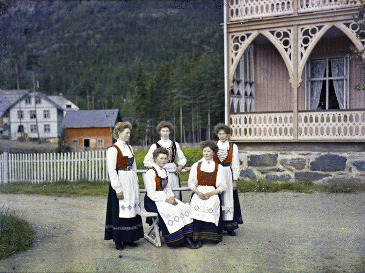 Норвегия. Fagerlund hotel. 1910г.