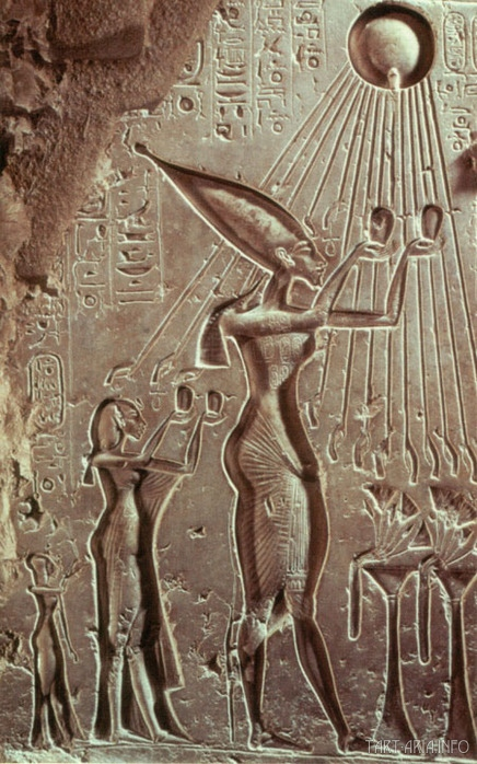 Эхнатон Нефертити