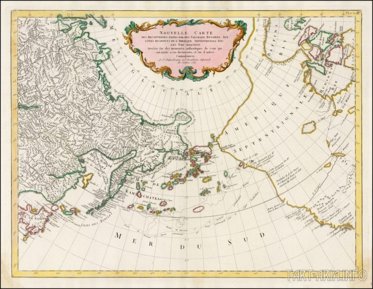карта 1773