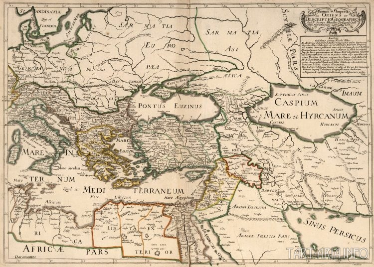 карта Сарматии