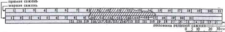 Реконструкция мерила (176,4 см)