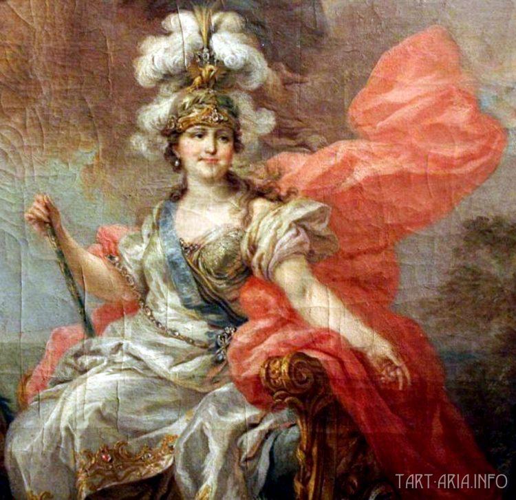 Екатерина художника Торелли