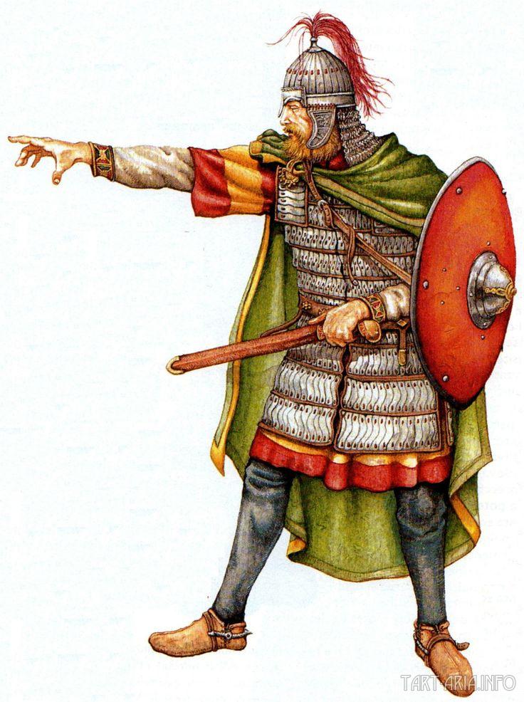 Langobards warriors
