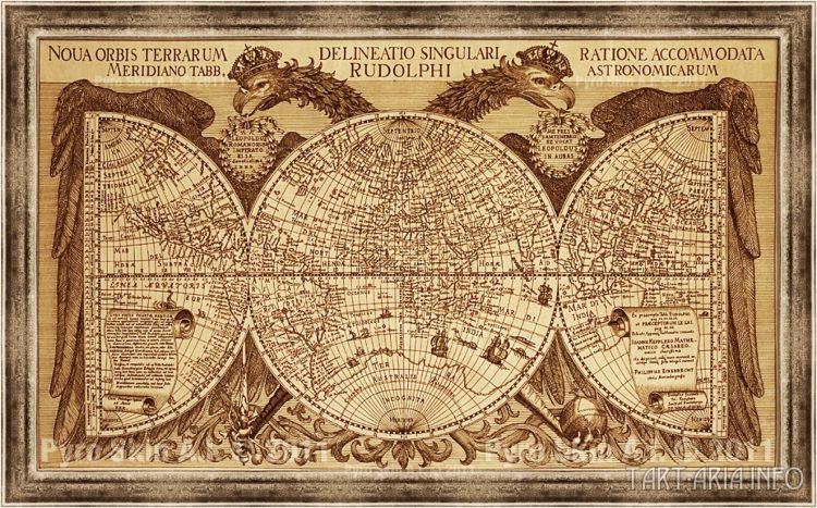 карта Филиппа Экебрехта