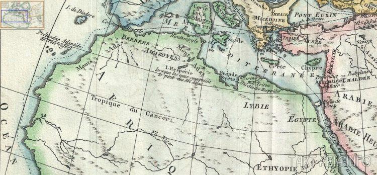 карта потопа