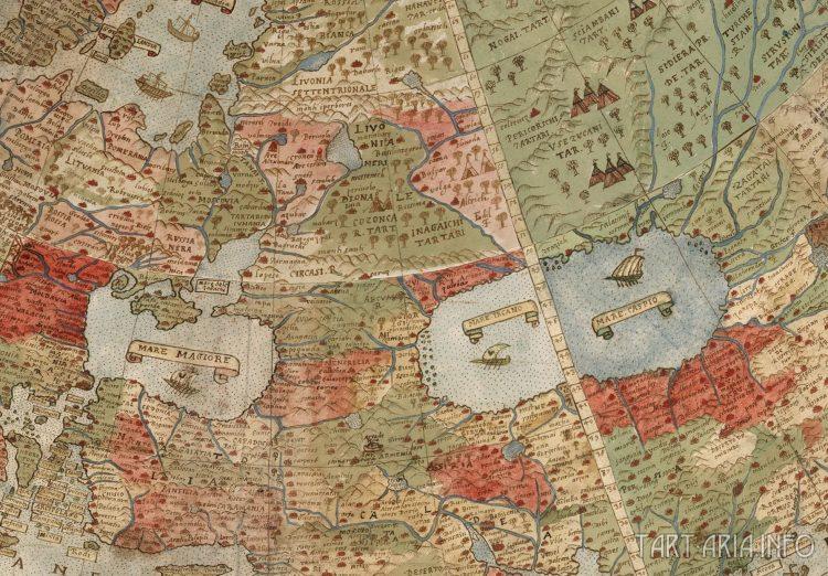 карта 1590
