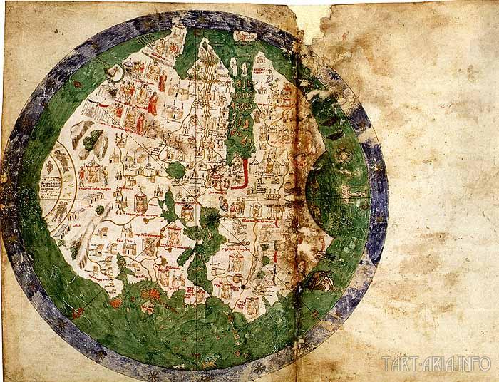 Андреа Бьянко карта 1438 года