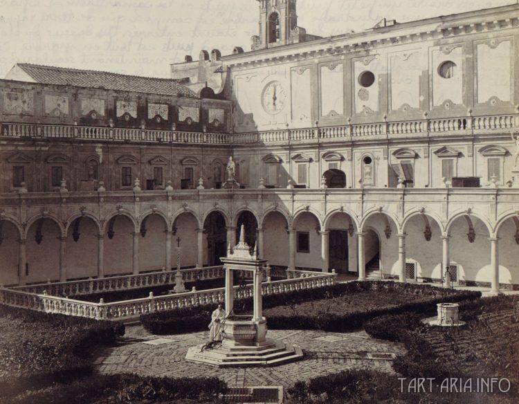 монастырь Сан-Марино в Неаполе
