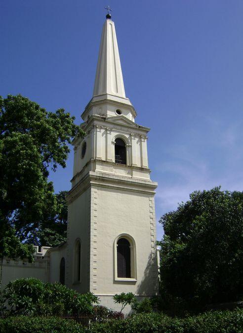Рис. 14. Церковь Св. Марии внутри форта Сент-Джордж.