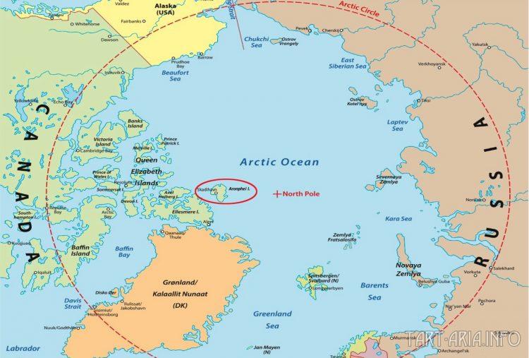 Аронфей на карте. Источник