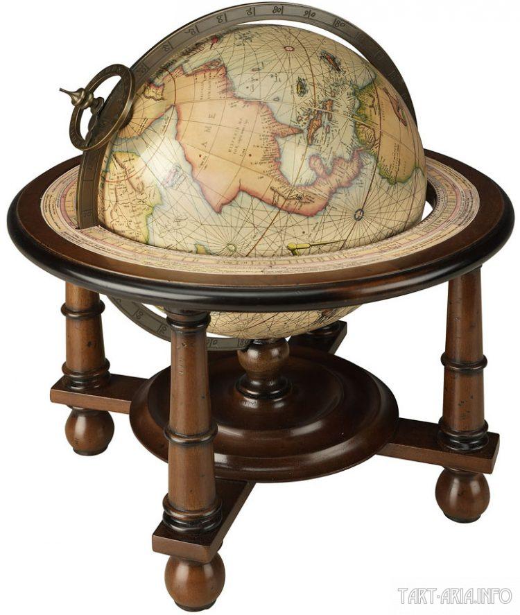 глобус Меркатора, 1541 г. Источник