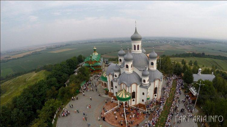 Рис. 3. Аннина гора, Черновицкая обл., Украина.