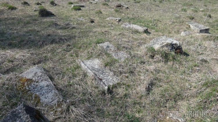 Ряды надгробий