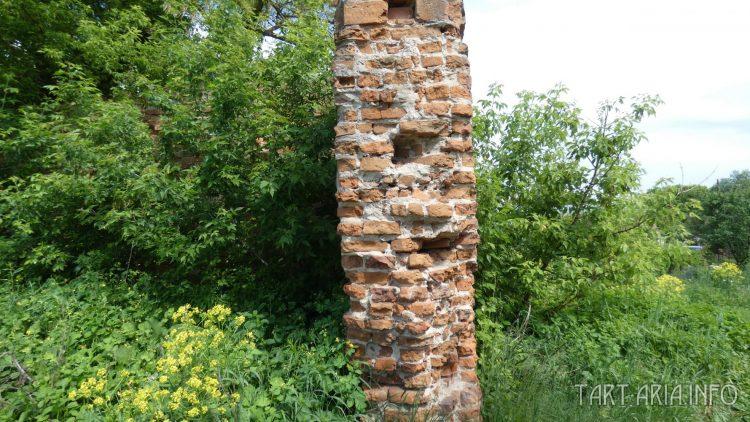 Толщина крепостной стены
