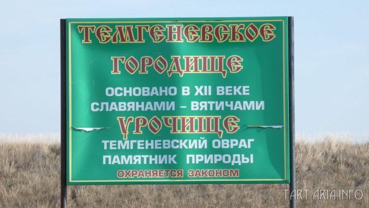 Запутанная история Темгеневского городища