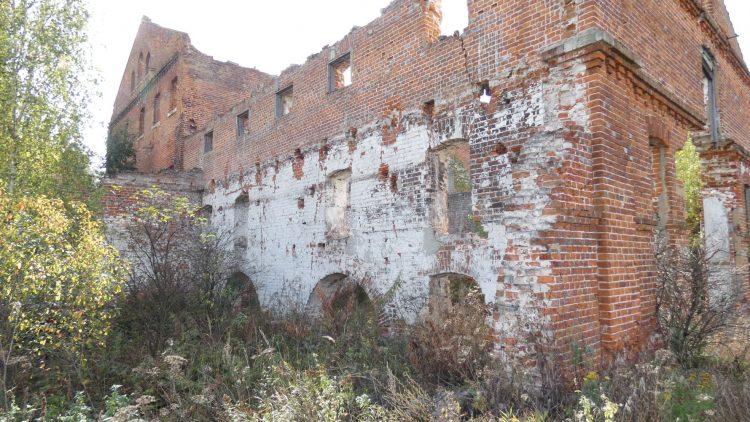Остатки стены