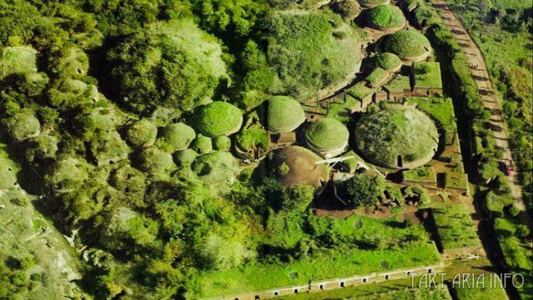 Этрусские некрополи в Черветери. Источник