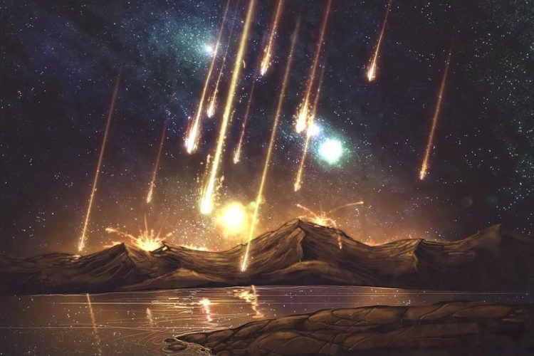 Огненные камни с неба