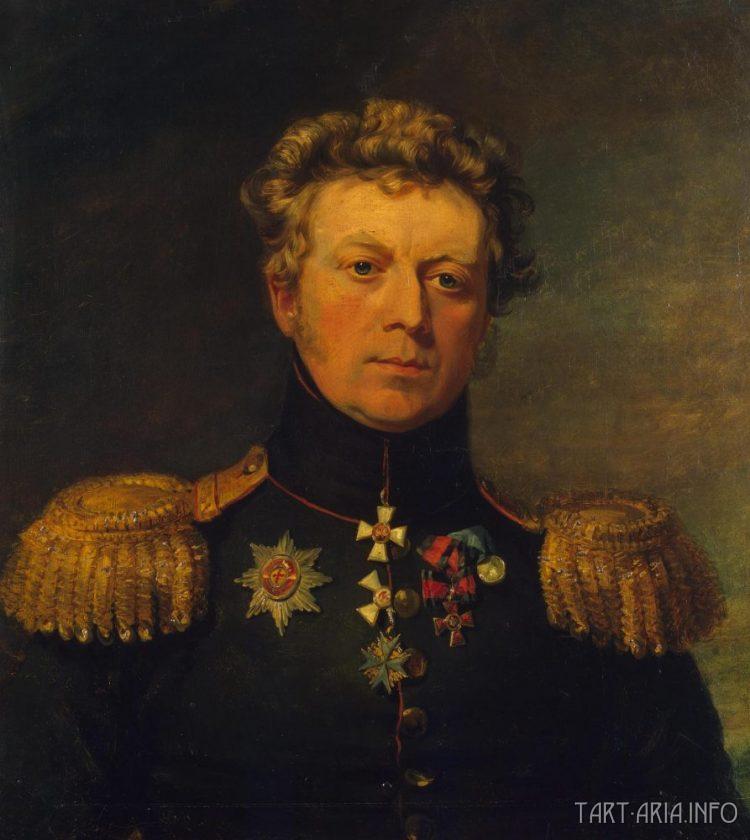 Евстафий Евстафьевич Штаден. В 1831 г. военный губернатор Тулы