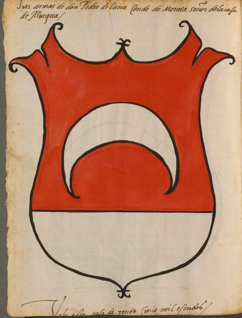 «Armas de los Condes, Vescondes etc. de Cataluña, de Castilla, de Portugal» (15-16 век).