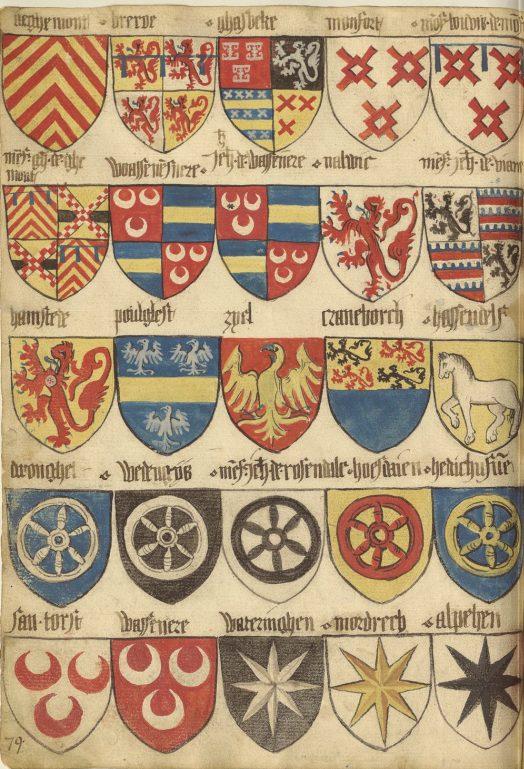 «Insignia Anglica» (16 век).