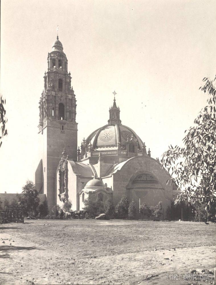 «California State Building», Panama-California Exposition, США (1915).