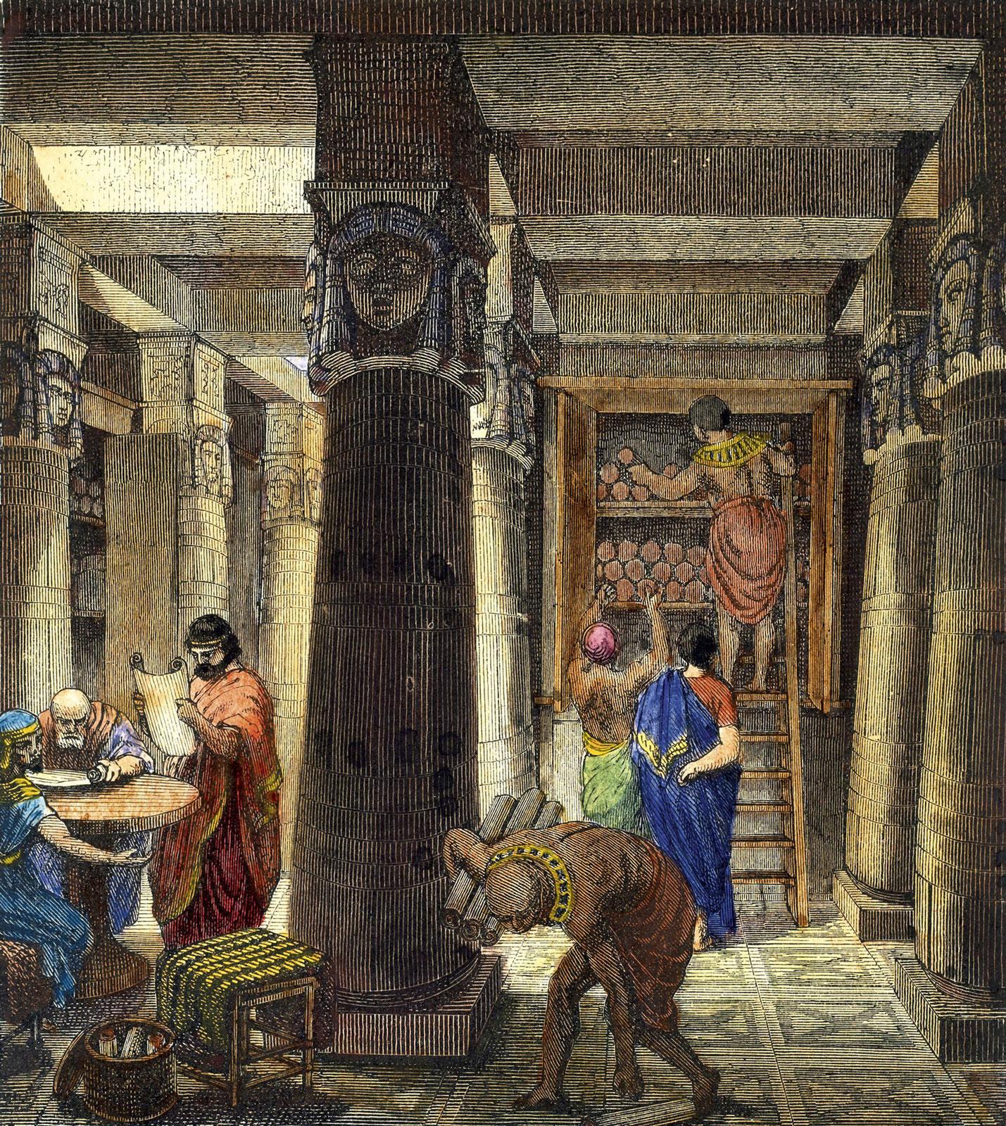 Как уничтожалась древняя письменность