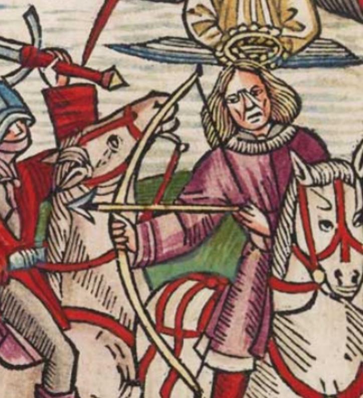 Всадник на белом коне Sil2