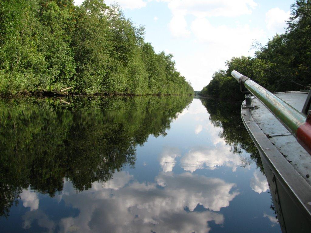 древние допотопные водные каналы