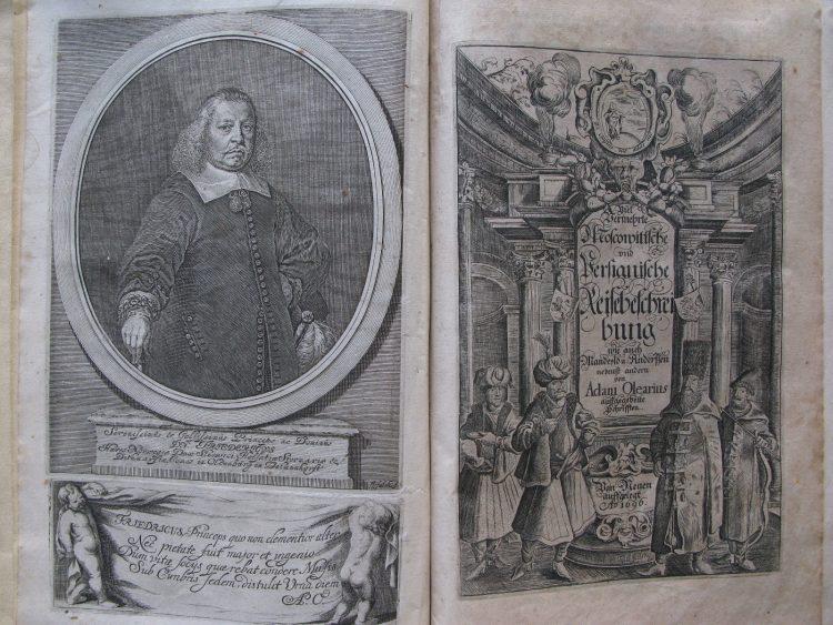 издание Олеария 1696 и 1967 года