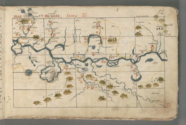 семен ремезов карта сибири