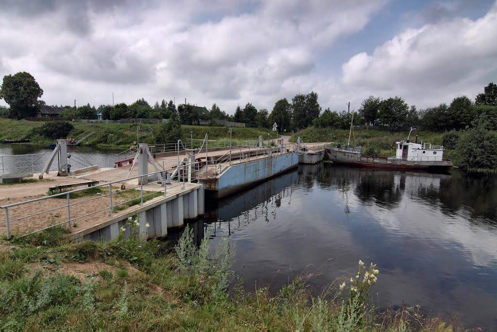 Древние ладожские каналы