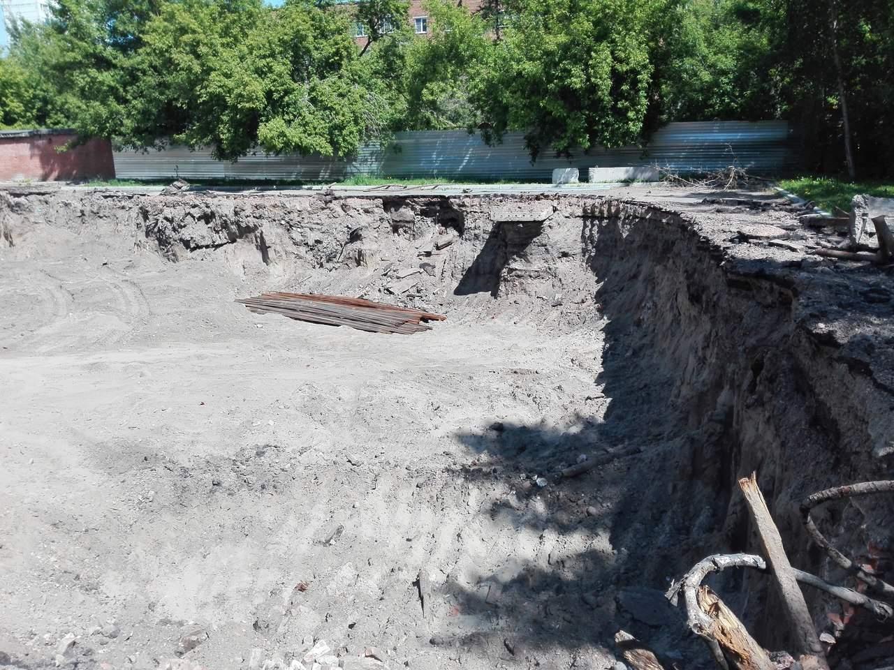 Красноярск здания засыпанные грунтом потоп Сибвед Sibved